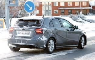 spyshots 2015 mercedes a class facelift autoevolution