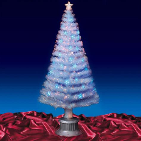 beautiful 6ft 180cm transparent fibre optic christmas tree