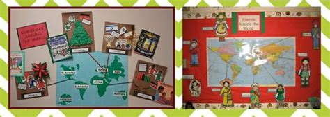 around the world ideas around the world winter bulletin board