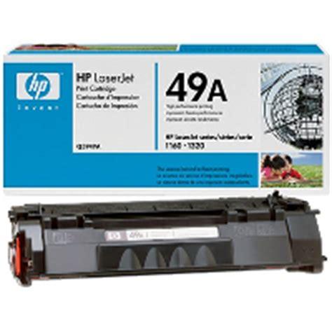 Harga Toner Catridges Hp 49a Laserjet 11601320n hewlett packard hp q5949a hp 49a laser toner cartridge
