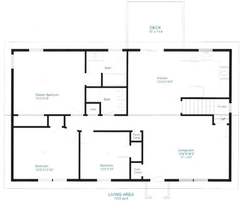 simple open floor plans simple open floor house plans sun valley homes basic