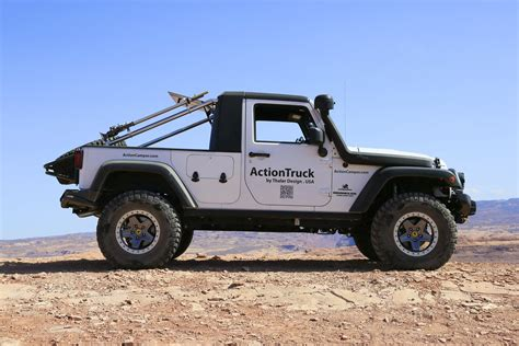 Jeep Rv Conversion Jeep 174 Actiontruck 169 Jk Unlimited Truck Conversion Kit By