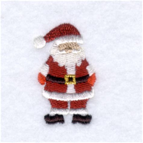 Minil Santaklaus starbird inc embroidery design mini santa claus 1 68