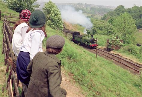 railroad children making of the railway children kwvr keighley worth