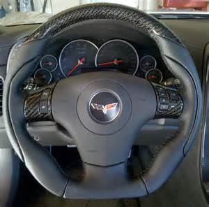 Steering Wheel For Corvette C6 Zr1 Dsv Steering Wheel Installed Corvette International