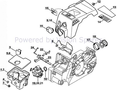 stihl ms180c parts diagram parts for stihl 180 chainsaw diagram wiring library