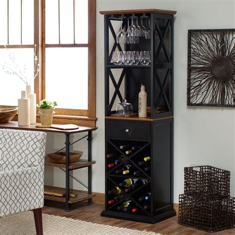 wine servers and bar cabinets bar cabinet rustic wine rack kitchen furniture