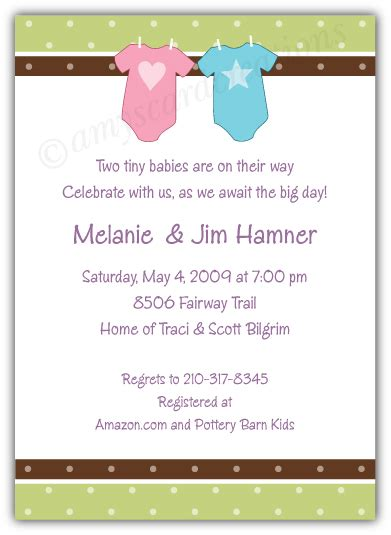 baby shower invitation beautiful twin baby shower this awesome twin baby shower invitations will inspire you