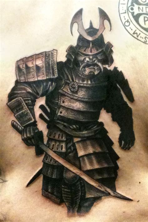 japanese warrior tattoo samurai warrior idea badass ideas and interests