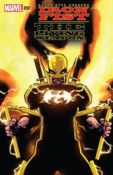 iron fist the living iron fist the living weapon 10 free download getcomics