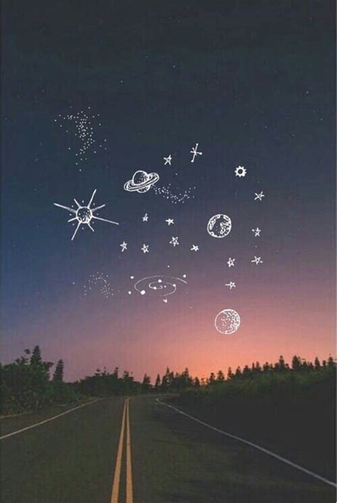 sky space for pinterest background doodle night sky space wallpaper lock