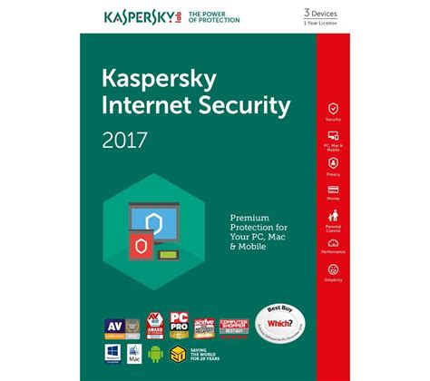 Security Kaspersky 3 User kaspersky security 2017 multi device 3 devices 1 year deals pc world