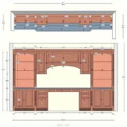 Home Office Floor Plans cabinetry floor plan elevations design layouts to build