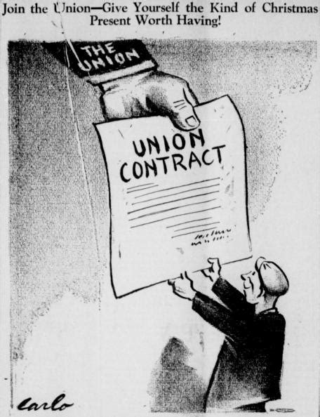 Carlo: Join the Union! (8 December 1938)