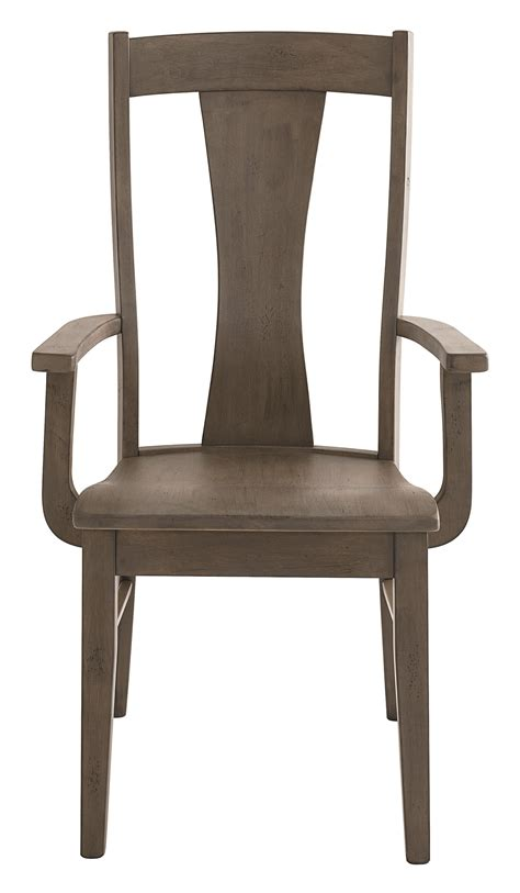 bench made furniture bassett bench made boone transitional arm chair fashion furniture dining arm chairs