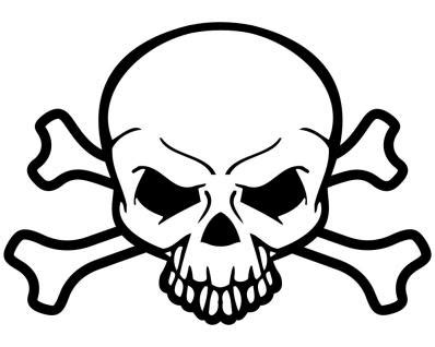 Totenkopf Motorrad Film by Piraten Totenkopf Aufkleber Skull Sticker Knochen Kaufen