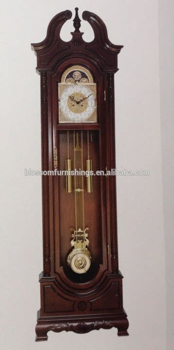 Clock L Stand solid wood antique standing clocks with 31 day