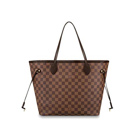 Lv Neverfull L neverfull mm damier ebene canvas handbags louis vuitton