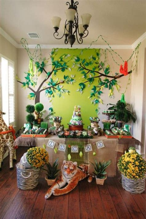 zoo themed birthday party some astonishing diy birthday party ideas for zoo jungle