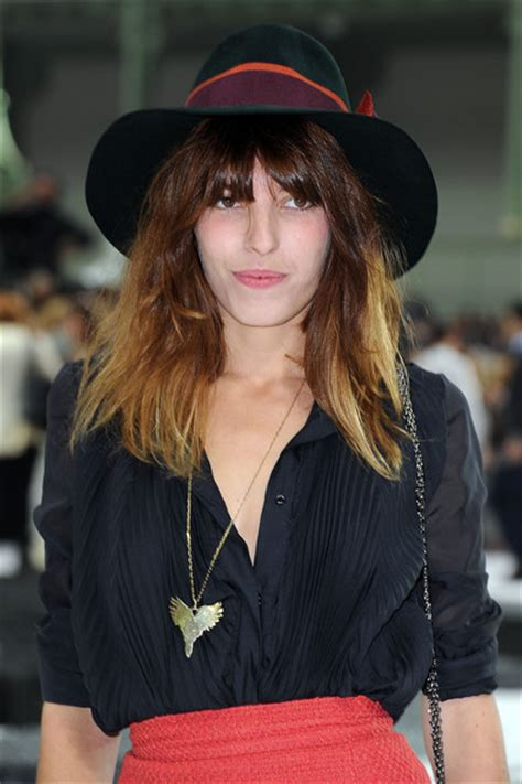 Features Lou Doillon By Cooper by Lou Doillon In Chanel Photocall Fashion Week