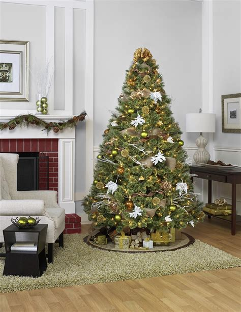 complete christmas tree trimming kit by 104 complete tree trim kit winter radiance theme