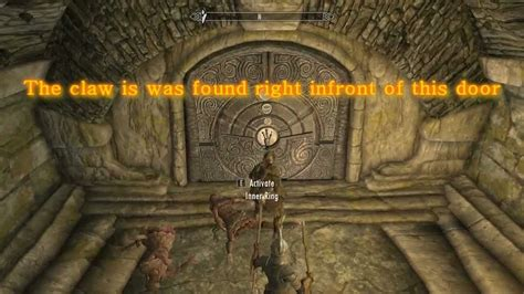 pattern to unlock door in skyrim skyrim the jagged crown ebony claw and jagged crown youtube