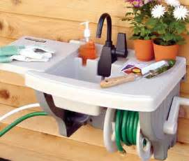 Outdoor sink station images