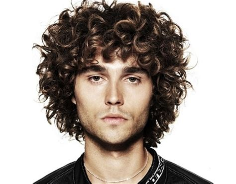 curly hairstyles  men beautiful hairstyles