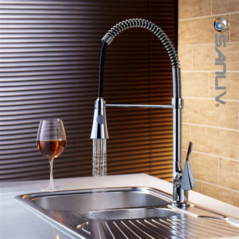 Reasons For Low Water Pressure In Kitchen Faucet by Unequal Pressure Pull Kitchen Spray Tap Best