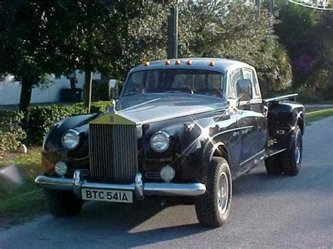 roll royce rod rolls royce pickup i think the americans call this a