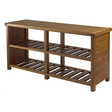 walmart shoe bench keystone entryway bench with shoe storage teak walmart com