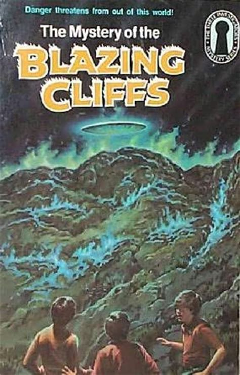 the cliffs books the mystery of the blazing cliffs alfred hitchcock and