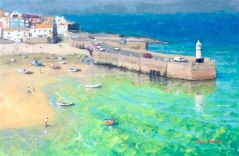 St Yves Uk 37 by St Ives Cornwall By David
