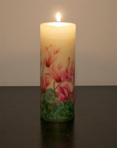 decoupage candele decoupage candle candle decoupage ideas