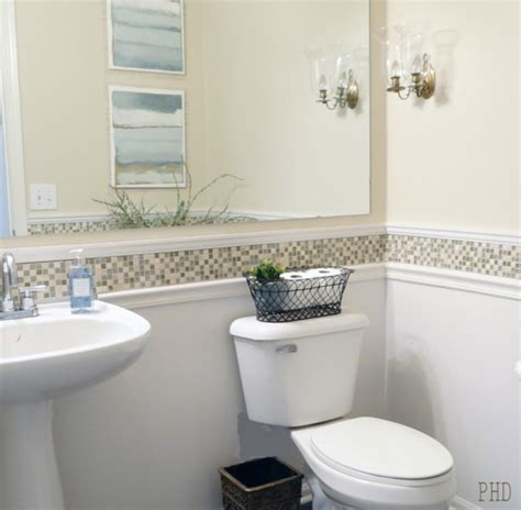 Backsplash Tile Ideas For Bathroom by Chair Rail Molding Ideas For The Bathroom Renocompare