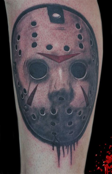 jason mask tattoo pin by lucchese on