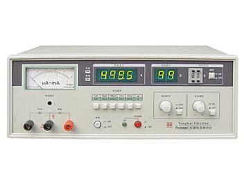 tonghui th2688c electrolytic capacitor leakage current meter