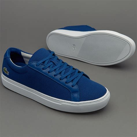 Sepatu Merk Lacoste sepatu sneakers lacoste l 12 12 blue