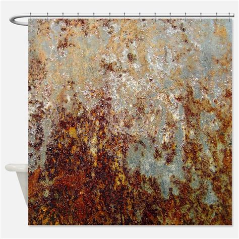 rust curtains brown shower curtains brown fabric shower curtain liner