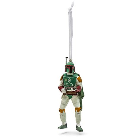 hallmark star wars boba fett ornament thinkgeek