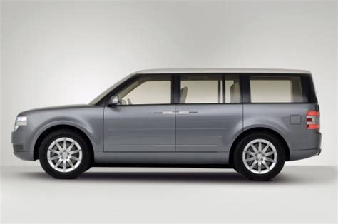 lincoln minivan future classic ford flex wood paneling costs extra