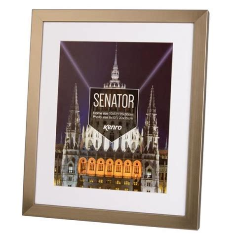 10 Inches By 14 Inches Mat Frame by Kenro Senator 11x14 Inch With 8x12 Inch Mat Photo Steel
