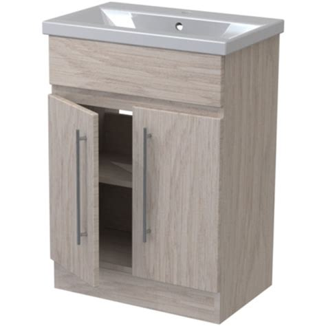 Bathroom Furniture Atlanta Atlanta Concepts Zest Floor Standing Vanity Unit 600mm White Gloss Graphite Lucido
