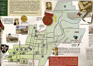 fort sam houston map fort sam houston museum war and museums on