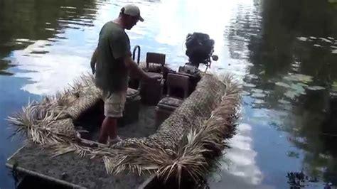 gator trax boats reviews gator trax marsh series youtube