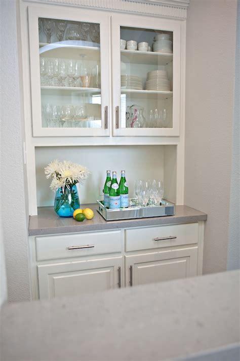 Gray Caesarstone Kitchen by Grey Quartz Counters Transitional Kitchen Studio Ten 25