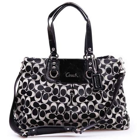 Home Decor Stores In Dallas Tx by Coach Ashley Signature Sateen Carryall Purse F15510
