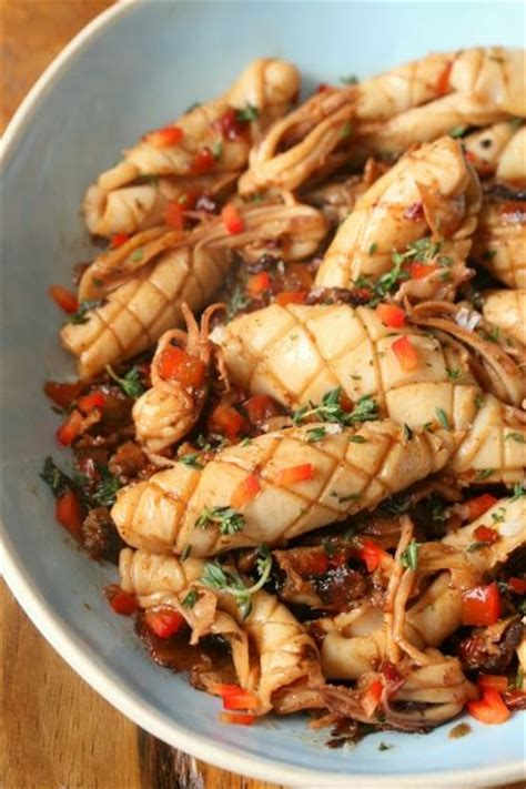 7 Recipes To Wow Him With by Grilled Squid Recipe Wow