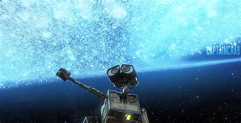 misteri film wall e outer space animation gif find share on giphy