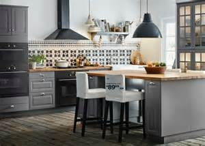 ikea kitchen furniture best 25 grey ikea kitchen ideas on